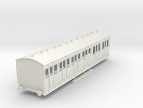 o-32-met-orig-ashbury-bogie-composite-coach in White Natural Versatile Plastic