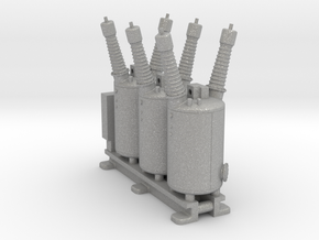 Electrical Substation Circuit Breaker in Aluminum: 1:87 - HO