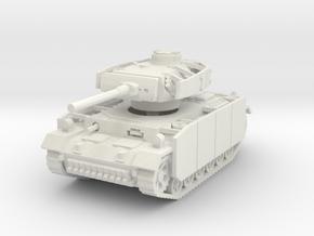 Panzer III M (schurzen) 1/100 in White Natural Versatile Plastic