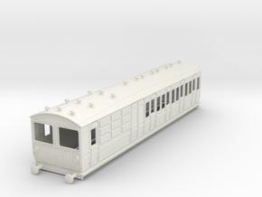 o-43-met-ashbury-bogie-brk-3rd-bth-motor-coach in White Natural Versatile Plastic