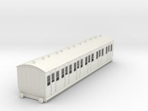 o-43-met-ashbury-bogie-composite-coach in White Natural Versatile Plastic