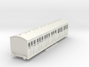 o-43-met-orig-ashbury-bogie-composite-coach in White Natural Versatile Plastic