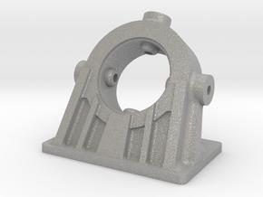 Bethlehem Steel Cast Angled Bearing Model in Aluminum: 1:48 - O