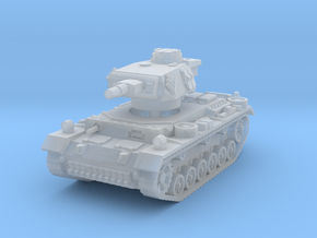 Panzer III N 1/200 in Smooth Fine Detail Plastic
