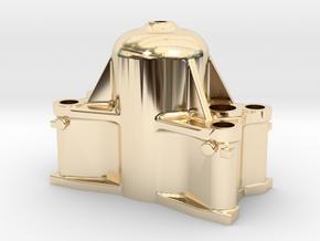 Bethlehem Steel Cast Forging Press Upper Head in 14K Yellow Gold: 1:64 - S