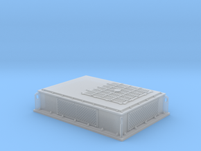 Rooftop-Mounted Air Conditioner Unit (G-scale) in Smoothest Fine Detail Plastic