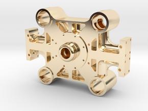 Bethlehem Steel Forging Press Main Beam in 14k Gold Plated Brass: 1:64 - S