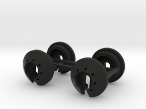 Spring Perch / Cup for Boom Racing Piggyback Shock in Black Natural Versatile Plastic