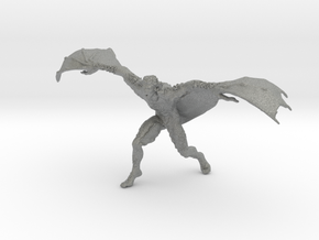 Werebat DnD miniature game rpg fantasy castlevania in Gray PA12