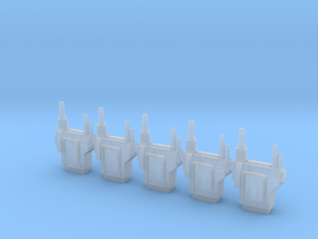 Imperial Heavy Infantry Backpacks Fireteam Pack in Smooth Fine Detail Plastic