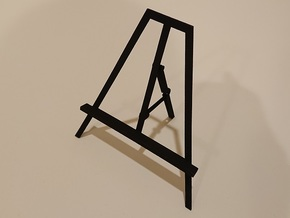 Picture Easel in Black Natural Versatile Plastic