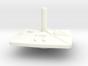 dreidel in White Processed Versatile Plastic