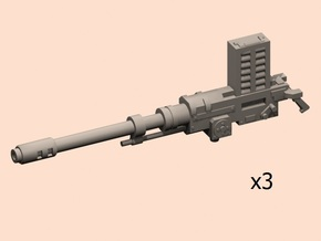 Automatic guns for HWT in Smooth Fine Detail Plastic