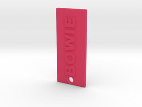 BOWIESTASH in Pink Processed Versatile Plastic