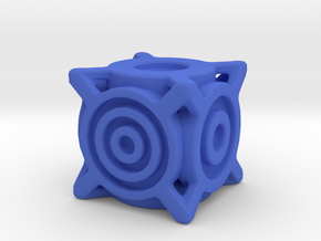 Concentric Die in Blue Strong & Flexible Polished