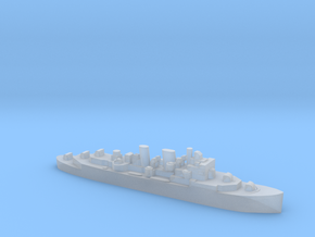 HMCS Prince Robert AA cruiser 1:4800 WW2 in Smooth Fine Detail Plastic
