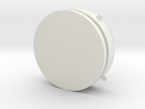 Jewelry storage box in White Natural Versatile Plastic