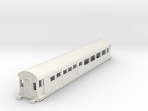 o-76-gcr-barnum-open-3rd-saloon-brake-coach in White Natural Versatile Plastic