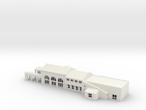 Fullerton Station N scale in White Natural Versatile Plastic