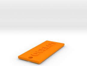 OCELOTBROTHER in Orange Processed Versatile Plastic