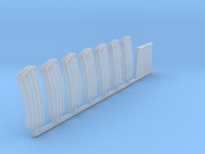 1:12 (True Scale) 30 Round M-16 Magazines in Smoothest Fine Detail Plastic