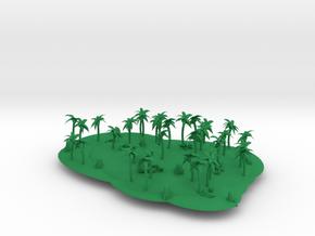 Island Model v1. in Green Processed Versatile Plastic