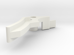MB W124 Cabrio / convertible - Hebel / lever in White Natural Versatile Plastic