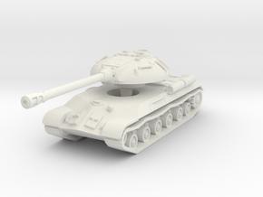 IS-3 Tank 1/87 in White Natural Versatile Plastic