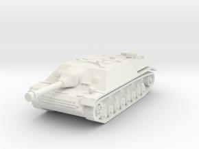 Jagdpanzer IV 1/87 in White Natural Versatile Plastic