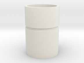 Modeling cup in White Natural Versatile Plastic