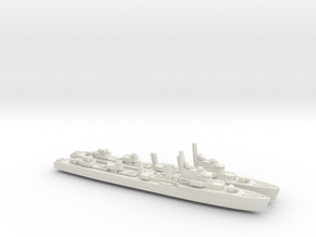 HNLMS Isaac Sweers 1/1250 in White Natural Versatile Plastic