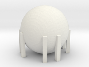 Natural Gas Tank 1/160 in White Natural Versatile Plastic