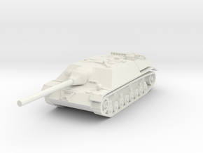 Jagdpanzer IV L70 1/87 in White Natural Versatile Plastic