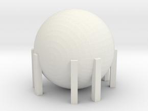 Natural Gas Tank 1/285 in White Natural Versatile Plastic