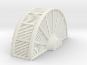 Industrial Turbine 1/56 in White Natural Versatile Plastic