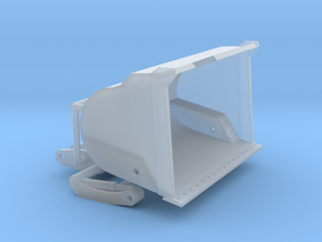 1/87th High Tip Bucket for Front End Loader in Smooth Fine Detail Plastic