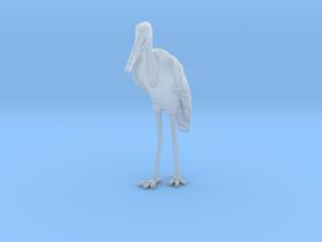 Marabou Stork 1:35 Standing in Smoothest Fine Detail Plastic