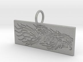 New Beginnings Key Chain/Pendant in Aluminum