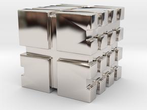 Linear D6 in Platinum: 15mm