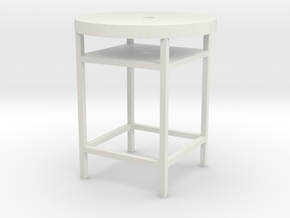 little chair in White Natural Versatile Plastic: Small