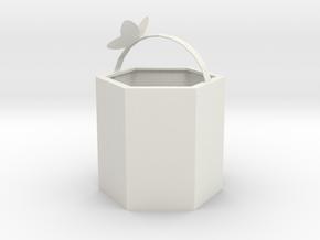 bag in White Premium Versatile Plastic: Medium