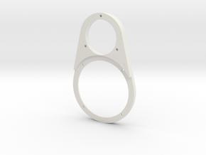 Replay Audio HTMT Brille in White Natural Versatile Plastic