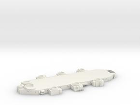 1/144 USS BB59 Superstructure Level 2 in White Natural Versatile Plastic