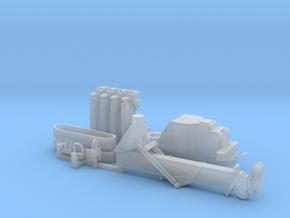 1:50 Mini Crawler Crane Set A kit in Smooth Fine Detail Plastic