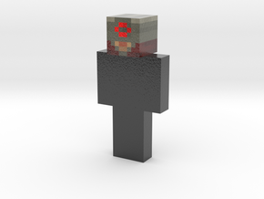 Pitchonordiste | Minecraft toy in Glossy Full Color Sandstone