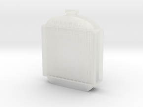 Hudswell Clarke D29 Radiator 1:76 in Smooth Fine Detail Plastic