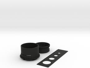 DIY M43 Lens in Black Natural Versatile Plastic