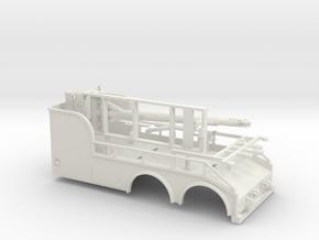 1/50th 'Big Stick' 20' tow truck body in White Natural Versatile Plastic