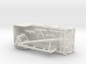 1/64th 'Big Stick' 20' tow truck body in White Natural Versatile Plastic