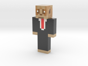 RealMeercatGames | Minecraft toy in Glossy Full Color Sandstone